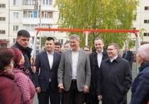 Радий Хабиров и глава министерства ЖКХ России Владимир Якушев посетили Нефтекамск