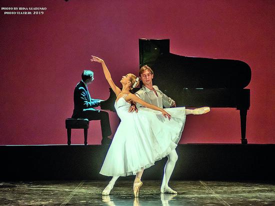 """В театре оперы и балета прошел концерт """"Шопениана или японские этюды"""""""