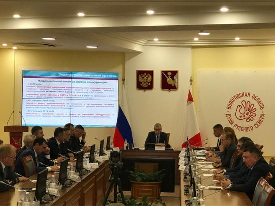 Шесть районов Вологодской области – в лидерах по содействию развитию конкуренции