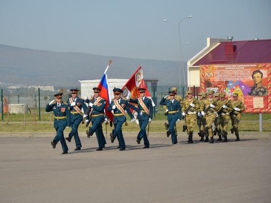 День образования воинской части спецназа Росгвардии отметили в Железноводске