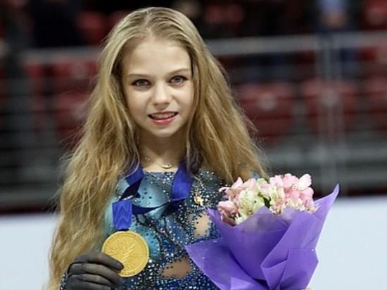 15-летняя фигуристка Трусова установила рекорд мира в четверных прыжках