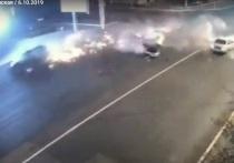 В сети появилось видео смертельного ДТП на Ленина в Чите
