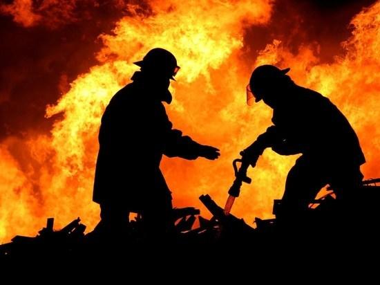 В Ивановской области в ночном пожаре сгорела баня