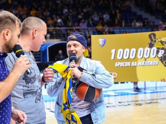Калужанин выиграл 1 млн, забросив мяч в баскетбольную корзину