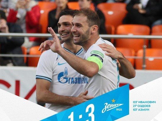 «Зенит» обыграл «Урал» и вернул лидерство в чемпионате