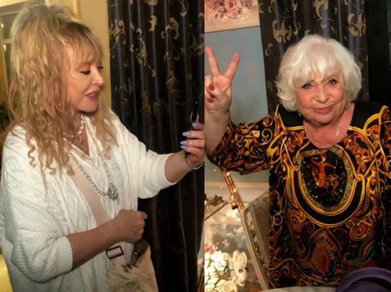 Пугачева отметила день рождения названой сестры