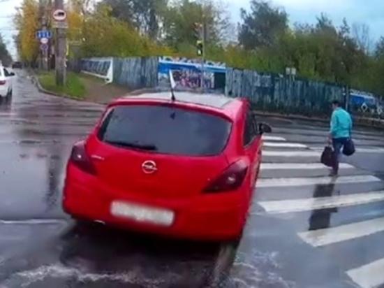 В Иванове дорожные инспекторы привлекли нарушителя к ответственности по видеозаписи из интернета