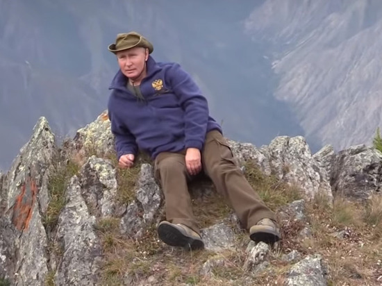 Появилось видео похода Путина и Шойгу за грибами в тайгу