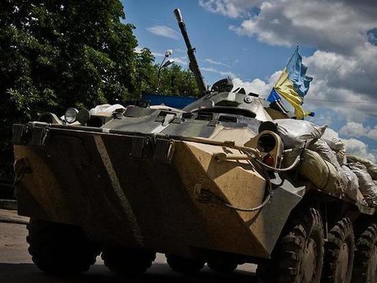 Украина перенесла начало отвода сил в Донбассе