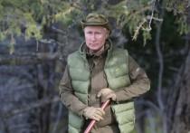 Президент не изменил своей привычке и снова побывал в сибирской тайге