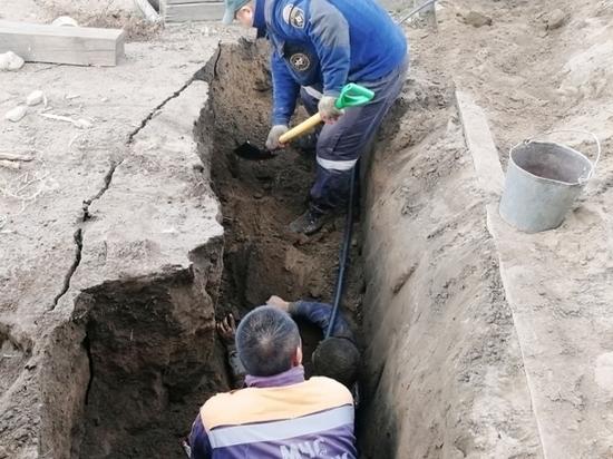 Житель Тувы выжил под завалами грунта