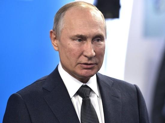 Путин увеличил себе зарплату ко дню рождения