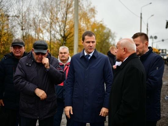 Мэрия Ярославля: Красноборская будет сдана почти в срок