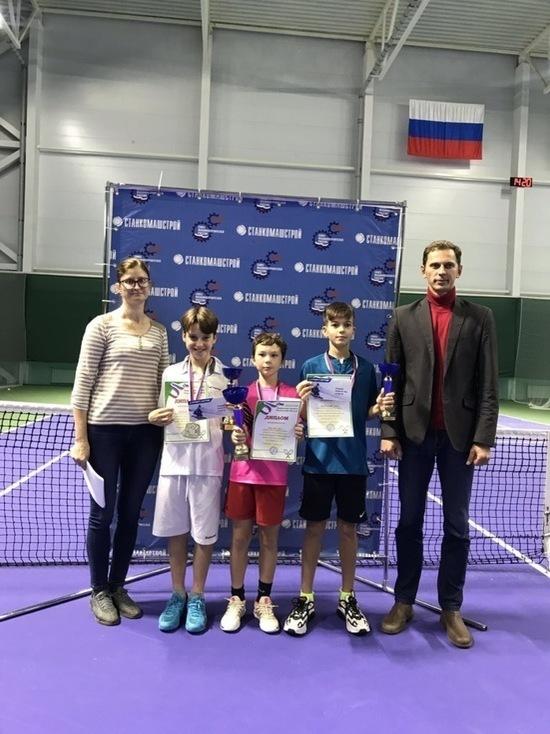 На турнире, состоявшемся в Пензе, ивановские теннисисты завоевали четыре медали