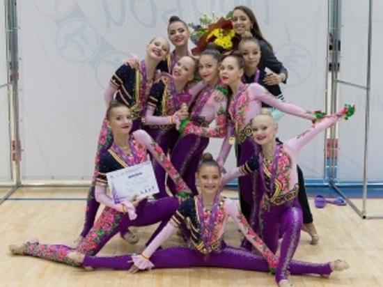 Юные гимнастки из Тарко-Сале победили на соревнованиях в Тюмени