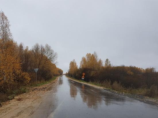 Дорогу сдали в Лукояновском районе Нижегородской области