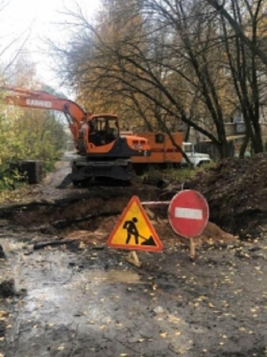 Из-за аварии на водопроводе в Иванове без тепла остались несколько домов