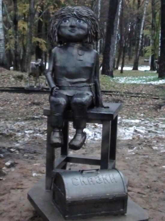 В Ивановском парке появилась новая селфи-достопримечательность - домовенок Кузи