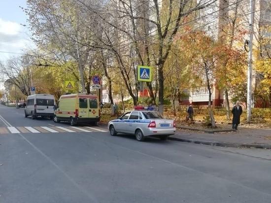 В Рязани маршрутка сбила пенсионера