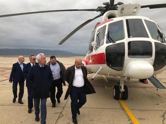 Санитарная авиация Дагестана получила новый вертолет