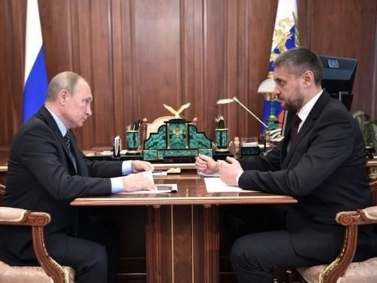 Путин встретится с Осиповым 9 октября
