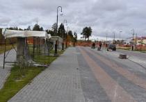 Главную площадь Губкинского откроют в конце месяца