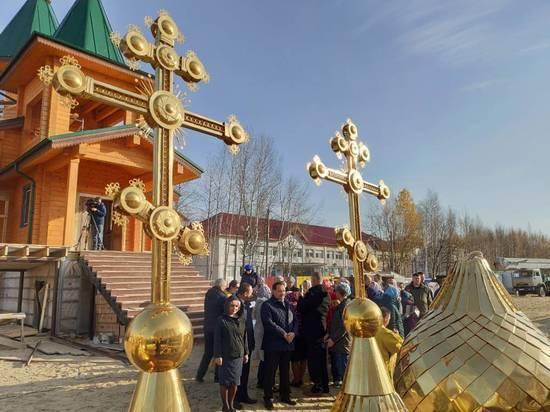В Нижневартовске завершается строительство уникального храма
