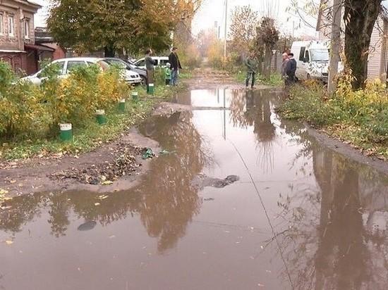 В центре Иваново из-за состояния дворов к жителям не может проехать скорая помощь