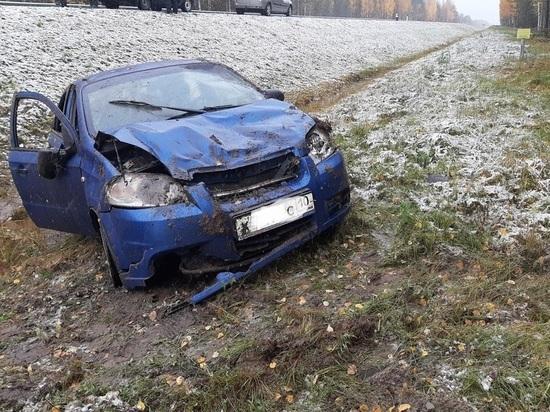 Две женщины-пассажира пострадали в ДТП на севере Карелии