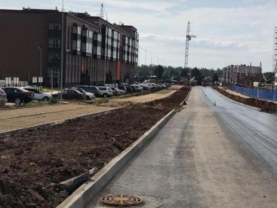 В Кирове на улице Энтузиастов готовят остановки