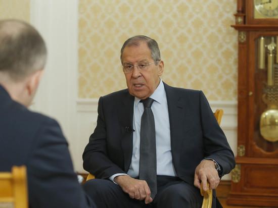 Лавров рассказал об опасных действиях США в Сирии