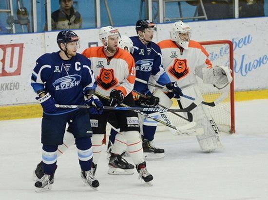 Воронежский «Буран» уступил пермякам в домашней игре