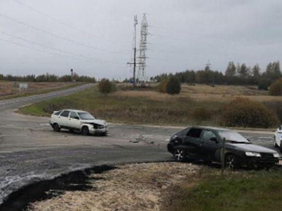 В Шумячском районе столкнули две