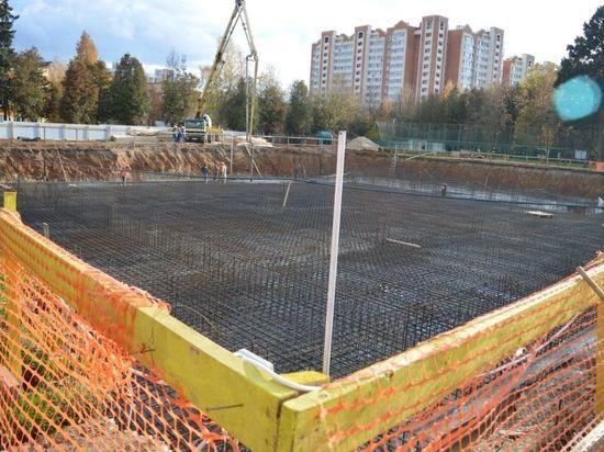 В Серпухове полным ходом идет строительство нового спортивного комплекса