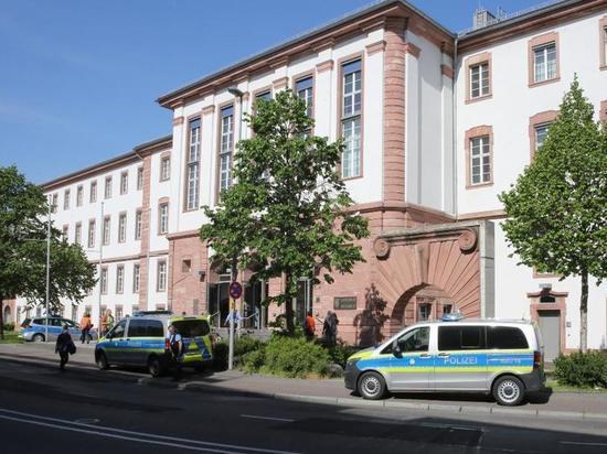 Угроза взрыва в Германии: Во дворцe правосудия в Ханау обыски