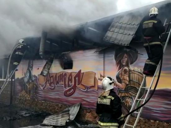 Пожар в кафе «Адмирал» на Солнечном острове потушили