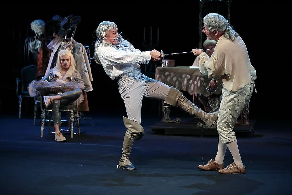 Московский Театр Сатиры отметит 95-летие иронической премьерой