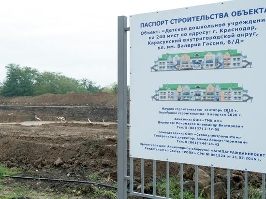 В краснодарском микрорайоне Гидростроителей построят детсад на 240 мест