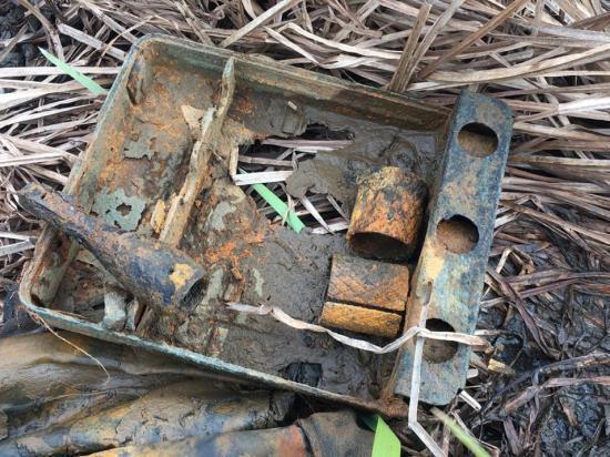 Остатки снарядов времён ВОВ обнаружены на окраине Серпухова