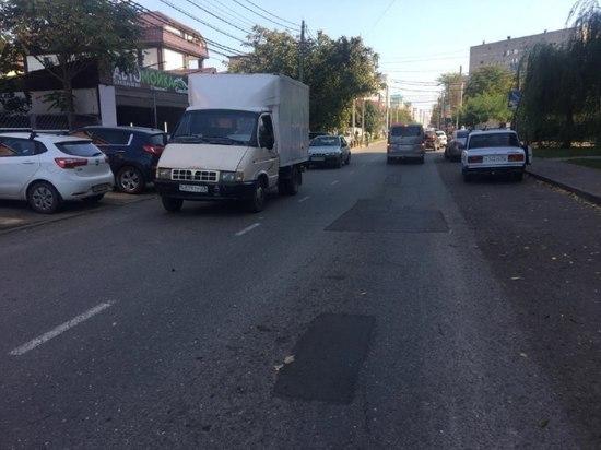 Ямочный ремонт дорог в Краснодаре нанесли на карту