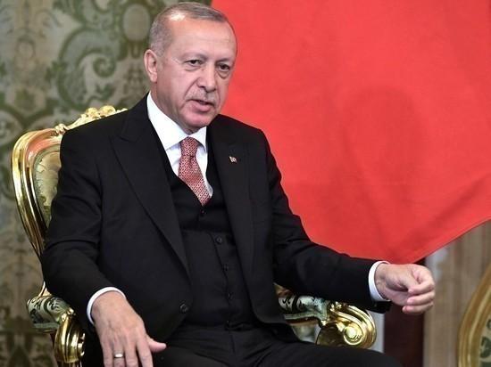Эрдоган назвал цель операции в Сирии