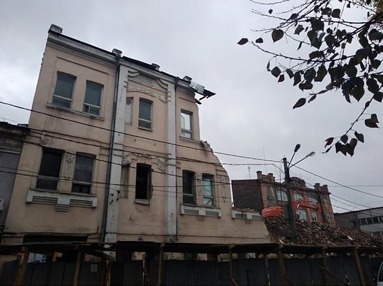 На снос усадьбы Перевалова в центре Иркутска не было получено разрешения