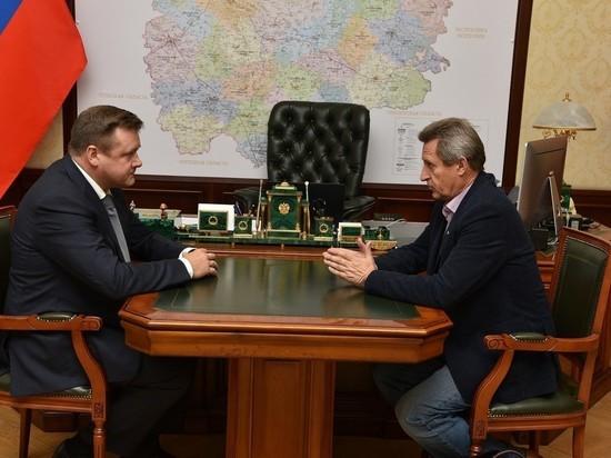 Николай Любимов встретился с Героем России Михаилом Малаховым
