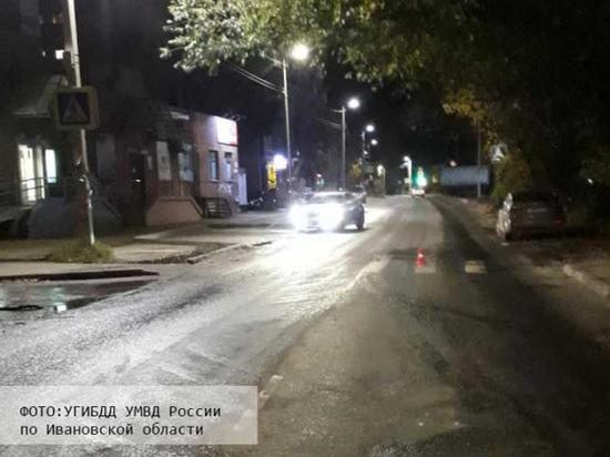 В Иванове женщина-водитель на переходе сбила пенсионерку