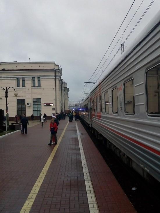 Очевидцы: военный попал под поезд на Московском вокзале в Туле
