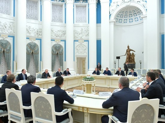 Президент РФ встретился с губернаторами