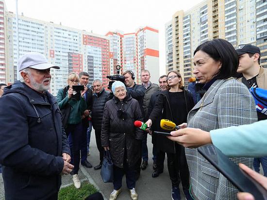 В Челябинске на Университетской набережной появилась новая прогулочная зона