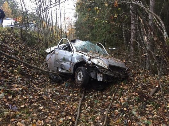 Дорожный инцидент произошел вечером 9 октября на 14 километре автодороги Андреаполь – Бологово в Андреапольском районе Тверской области