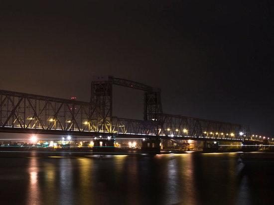 С 15 октября до конца года железнодорожный мост Архангельска будет закрыт по ночам