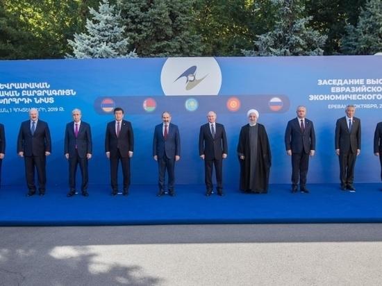 Диалог с ЕАЭС и ЕС